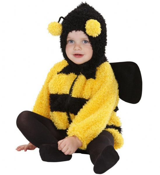 Toddler Fuzzy Bee Baby Costume Animal Fancy Dress